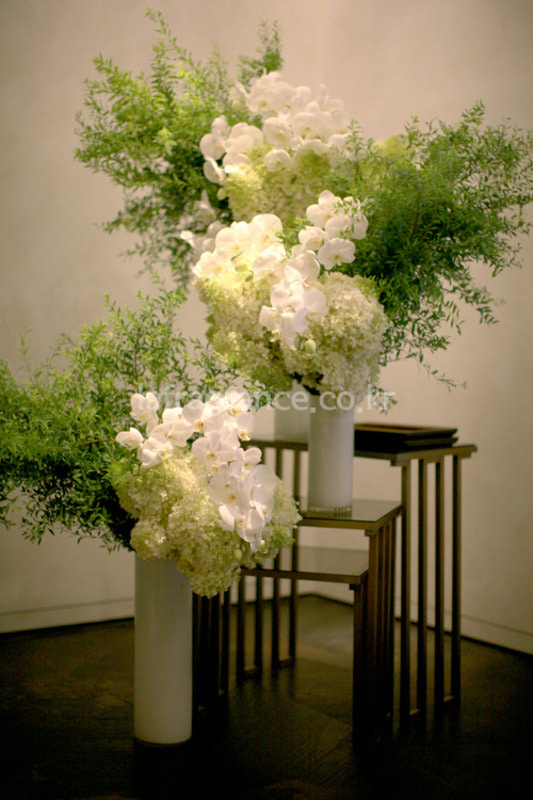 GRAFF flower styling in Shinsegae PS room프라그랑스